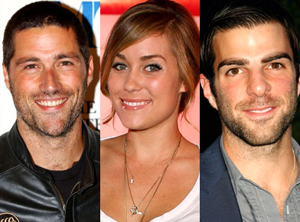 Matthew Fox, Lauren Conrad, Zachary Quinto